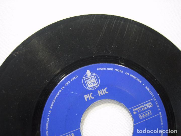 Discos de vinilo: Singles Pic-Nic 1967 - Foto 3 - 74233587