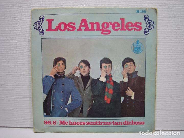 SINGLES LOS ANGELES 1967 (Música - Discos de Vinilo - Maxi Singles - Grupos Españoles 50 y 60)
