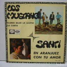 Discos de vinilo: SINGLES LOS MUSTANG 1967. Lote 74233787