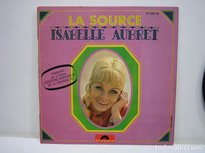 SINGLES ISABELLE AUBRET (Música - Discos de Vinilo - Maxi Singles - Canción Francesa e Italiana)