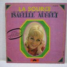 Discos de vinilo: SINGLES ISABELLE AUBRET. Lote 74234031