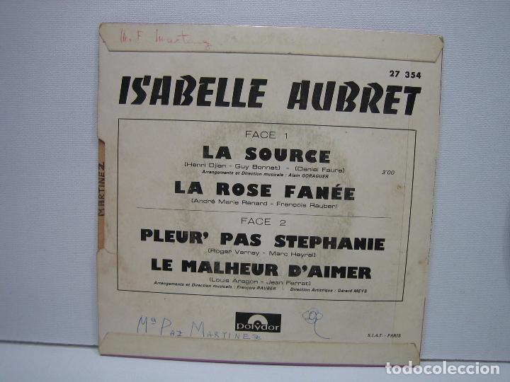 Discos de vinilo: Singles Isabelle Aubret - Foto 4 - 74234031