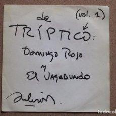 Discos de vinilo: SILVIO RODRIGUEZ - (VOL. 1) DE TRIPTICO: DOMINGO ROJO Y EL VAGABUNDO. Lote 74235175