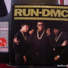 Disques de vinyle: RUN- DMC- TO GET HER FOREVER. GREATEST HITS 1983- 1991. GATEFOLD. Lote 74248299