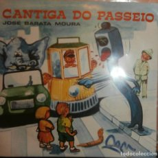 Discos de vinilo: JOSE BARATA MOURA - CANTIGA DO PASSEIO (PORTUGUES) (SG). Lote 73026625