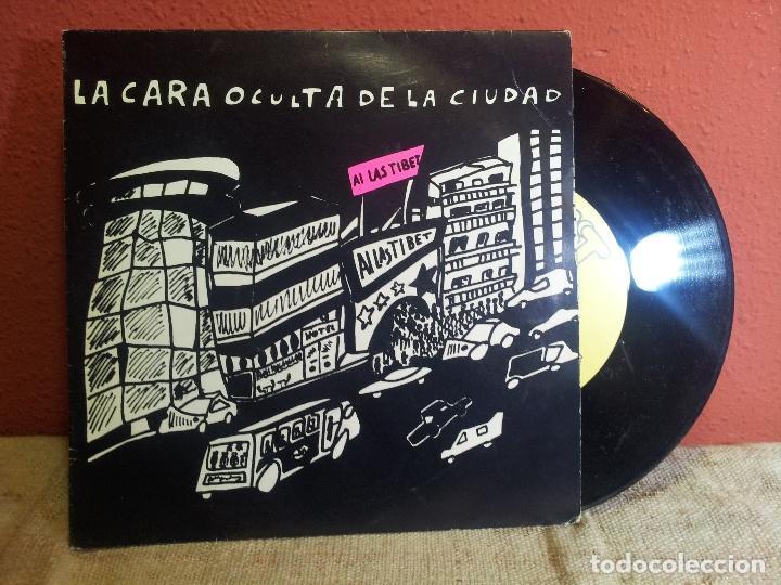 AI LAS TIBET / LA CARA OCULTA DE LA CIUDAD / ANGUSTIA VITAL - NIT 1989 VILAFRANCA PENEDES (REF-1AC) (Música - Discos de Vinilo - Maxi Singles - Grupos Españoles de los 70 y 80)
