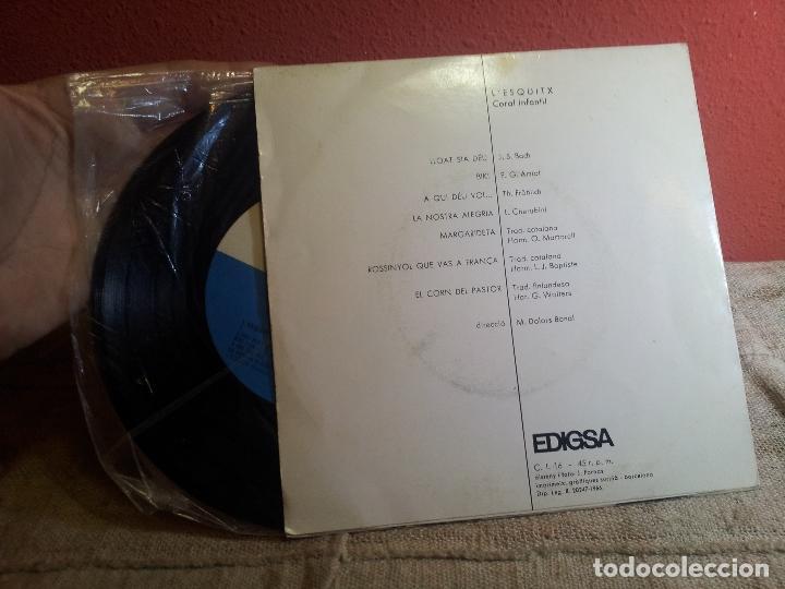 Discos de vinilo: L´ESQUITX // CORAL INFANTIL // DIRECCIO: M. DOLORS BONAL // EDIGSA 1966 (REF-1AC) - Foto 2 - 74271579