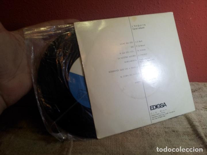 Discos de vinilo: L´ESQUITX // CORAL INFANTIL // DIRECCIO: M. DOLORS BONAL // EDIGSA 1966 (REF-1AC) - Foto 3 - 74271579