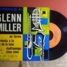 Discos de vinilo: HOMENAJE A GLENN MILLER, 1965,BOBBY KRANE HIS TROMBONE-PLAYS FOR DANCING (REF-1AC). Lote 74272347
