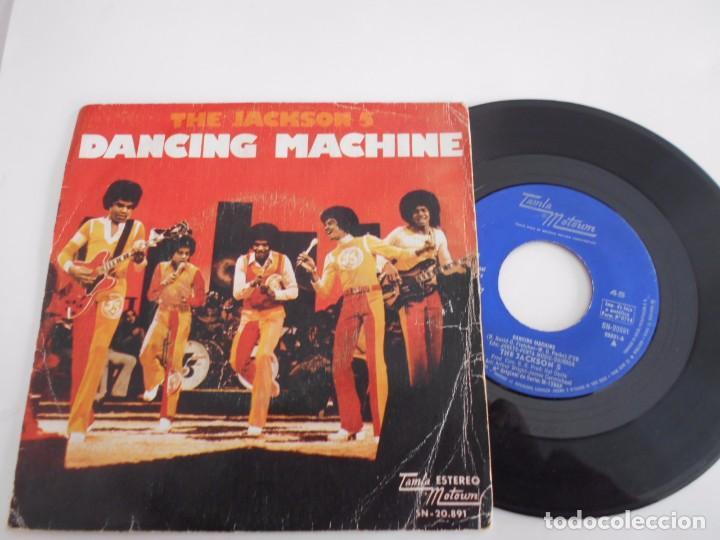 THE JACKSON 5-SINGLE DANCING MACHINE-1974 (Música - Discos - Singles Vinilo - Funk, Soul y Black Music)