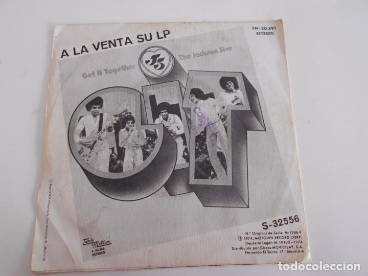 Discos de vinilo: THE JACKSON 5-SINGLE DANCING MACHINE-1974 - Foto 2 - 74272467