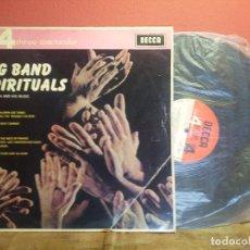 Discos de vinilo: BIG BAND SPIRITUALS TED HEATH LP DECCA PHASE 4 STEREO 1964 (REF-1AC). Lote 74273087