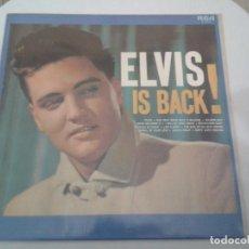 Discos de vinilo: LP - VINILO - ELVIS PRESLEY - ELVIS IS BACK - ESTADO DE LUJO. Lote 210979615