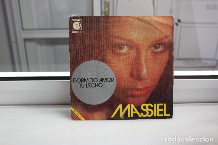 SINGLE MASSIEL. DORMIDO AMOR - TU LECHO. (Música - Discos - Singles Vinilo - Solistas Españoles de los 70 a la actualidad)