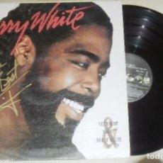 Discos de vinilo: LP BARRY WHITE - THE RIGHT & NIGHT. Lote 74298831