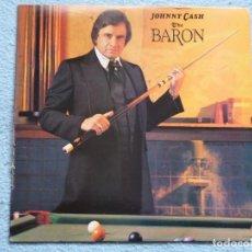 Discos de vinilo: JOHNNY CASH,THE BARON EDICION USA. Lote 74302911