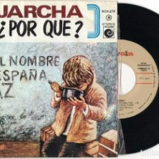 Discos de vinilo: SINGLE	JARCHA	¿PORQUE?	SINGLE	NOVOLA	1977. Lote 74306423