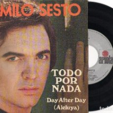 Discos de vinilo: SINGLE	TODO POR NADA	CAMILO SESTO	SINGLE	ARIOLA	1973. Lote 74306779