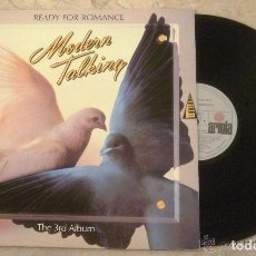 Discos de vinilo: LP MODERN TALKING - READY FOR ROMANCE - ARIOLA 1986 -. Lote 74306955