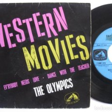 Dischi in vinile: THE OLYMPICS - ORIG. EP FRENCH PS - WESTERN MOVIES. Lote 74310903