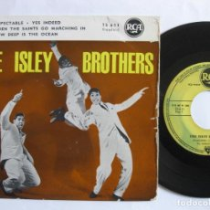 Discos de vinilo: THE ISLEY BROTHERS - ORIG. EP FRENCH PS - RESPECTABLE - RCA 75611. Lote 74311079