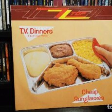 Discos de vinilo: ZZ TOP - T.V. DINNERS / CHEAP SUNGLASSES. Lote 74333791
