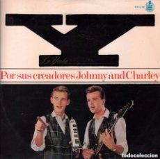 Discos de vinilo: JOHNNY AND CHARLIE - LA YENKA POR SUS CREADORES - LP HISPAVOX DE 1965 RF-1053 , PERFECTO ESTADO. Lote 74338351