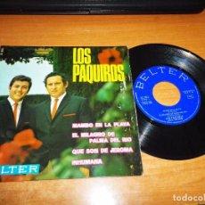 Discos de vinilo: LOS PAQUIROS MAMBO DE LA PLAYA EP VINILO DEL AÑO 1967 BELTER ESPAÑA CONTIENE 4 TEMAS. Lote 74339883
