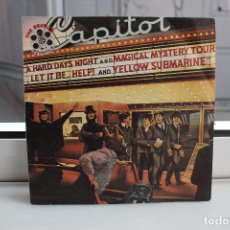 Discos de vinilo: SINGLE THE BEATLES. I'M HAPPY JUST TO DANCE WITH YOU. EXTRACTOS DEL LP REEL MUSIC. EMI 1982. Lote 74345563