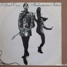 Discos de vinilo: SHAKESPEARS SISTERS - I DON'T CARE + REMEMBER MY NAME. Lote 74382223