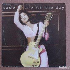Discos de vinilo: SADE - CHERISH THE DAY + NO ORDINARY LOVE -DISCO PROMOCIONAL. Lote 74382867