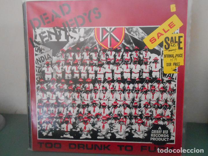 DEAD KENNEDYS - TOO DRUNK TO FUCK (Música - Discos de Vinilo - Maxi Singles - Punk - Hard Core)