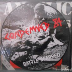 Discos de vinilo: CONDEMNED 84 - BATTLE SCARRED PICTURE DISC. Lote 74385431