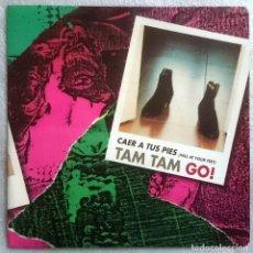 Discos de vinilo: TAM TAM GO!: CAER A TUS PIES (FALL AT YOUR FEET), SINGLE PROMO EMI 006 8600687. SPAIN, 1993. NM/NM. Lote 74393955