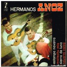 Discos de vinilo: HERMANOS ANOZ - ESTAMPA NAVARRA / MAITECHU MIA / SIERRA DE LUNA / NAVARRA CANTA - EP 1964. Lote 74461675