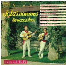 Discos de vinilo: HERMANOS ANOZ - VAMOS A LA CAMA MOZOS + 7 - EP 1961. Lote 74462431