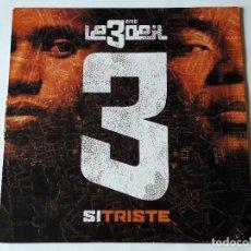 Discos de vinilo: LE 3ÈME ŒIL - SI TRISTE - 2002. Lote 74463171
