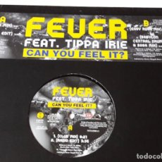 Discos de vinilo - Fever Featuring Tippa Irie - Can You Feel It? - 1996 - 74463543