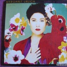 Discos de vinilo: LP - MARGARET URLICH - SAFETY IN NUMBERS (SPAIN, CBS 1989). Lote 74471547