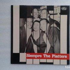 Discos de vinilo: THE PLATTERS - SIEMPRE THE PLATTERS LP 1988 EDICION ESPAÑOLA. Lote 74475107