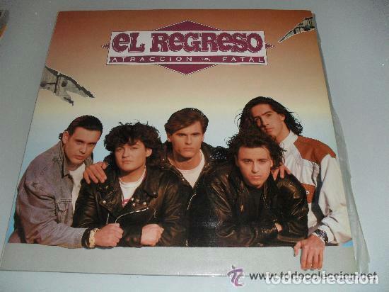 EL REGRESO - ATRACCIÓN FATAL - LP SPAIN 1991 (Música - Discos - LP Vinilo - Grupos Españoles de los 90 a la actualidad)