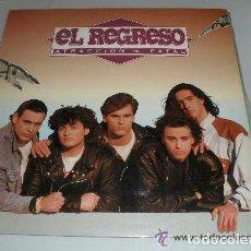 Discos de vinilo: EL REGRESO - ATRACCIÓN FATAL - LP SPAIN 1991. Lote 74487883