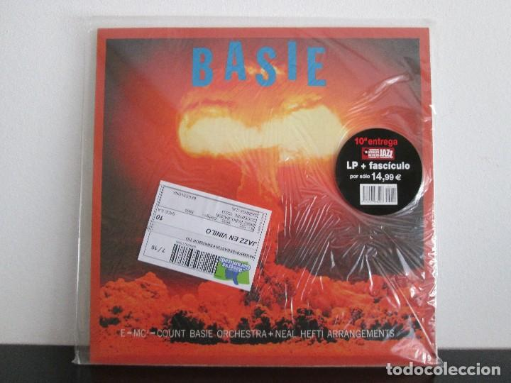 BASIE COUNT BASIE ORCHESTRA=MITICOS DEL JAZZ = NUEVO SIN ABRIR (Música - Discos de Vinilo - Maxi Singles - Jazz, Jazz-Rock, Blues y R&B)