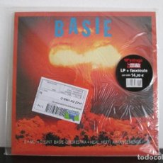 Discos de vinilo: BASIE COUNT BASIE ORCHESTRA=MITICOS DEL JAZZ = NUEVO SIN ABRIR. Lote 74534899