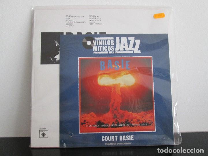 Discos de vinilo: basie count basie orchestra=miticos del jazz = nuevo sin abrir - Foto 2 - 74534899