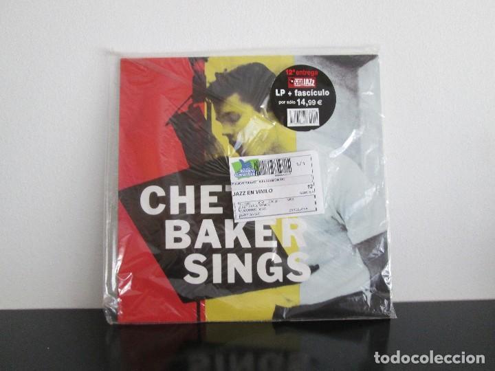 CHET BAKER SINGS EN SU FUNDA ORIGINAL SIN ABRIR (Música - Discos de Vinilo - Maxi Singles - Jazz, Jazz-Rock, Blues y R&B)
