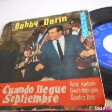 Discos de vinilo: BOBBY DARIN-EP MULTIPLICATION +3-1962. Lote 74550303