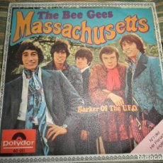 Discos de vinilo: THE BEE GEES - MASSACHUSETTS - SINGLE ORIGINAL ESPAÑOL -POLYDOR 1967 - MUY NUEVO (5).. Lote 218483056