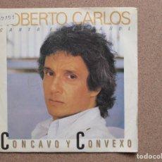 Discos de vinilo: ROBERTO CARLOS - CONCAVO Y CONVEXO - DISCO PROMOCIONAL A UNA SOLA CARA. Lote 74563679