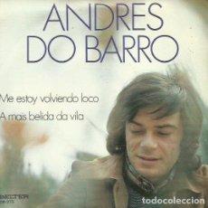 Discos de vinilo: ANDRES DO BARRO. SINGLE. SELLO BELTER. EDITADO EN ESPAÑA. AÑO 1973. Lote 74570343
